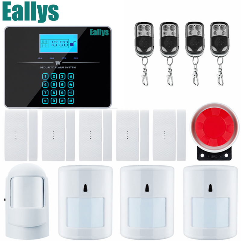 IOS Android APP Wireless GSM Alarm System LCD Display Autodial Text Burglar IntruderSecurity Alarm Pet Immune PIR 2017 kerui ios android app wireless gsm alarm system tft color display autodial text burglar intruder security alarm door open