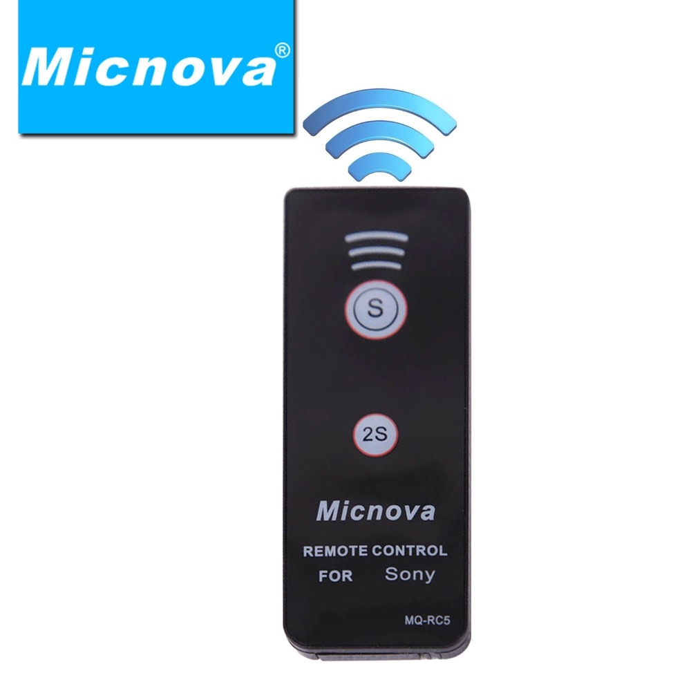Electronic 2016 New Micnova Mq Rc5 Infrared Remote Control For Sony Ir Transmitter Dslr Cameras A900 A700 A580 A560 A550 A500 A450 A390 A330 In Shutter Release From