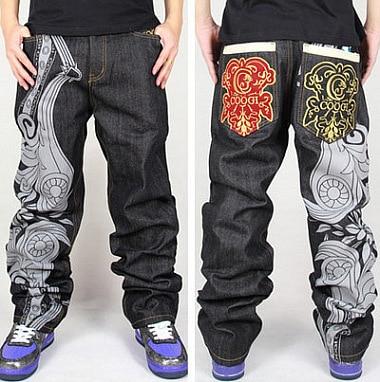 2014 Hot Hip Hop Baggy Jeans Men Famous Brand High Quality ...