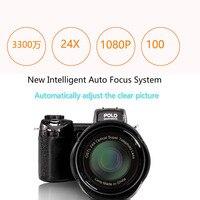 Protax D7100 33MP Разрешение 13MP CMOS 3,0 дюйма TFT ЖК дисплей Экран цифровой Камера 24X Оптический зум цифровой Камера s с светодио дный налобный фонарь