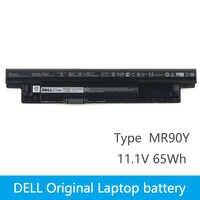 Dell D'origine Nouvelle batterie de remplacement pour ordinateur portable pour dell Inspiron 3421 3721 5421 5521 5721 3521 5537 2421 2521 MR90Y 65Wh 6 cellules