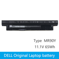 Original Laptop battery For DELL Inspiron 3421 3721 5421 5521 5721 3521 5537 Vostro 2421 2521 XCMRD MR90Y 11.1V 65Wh 6 core