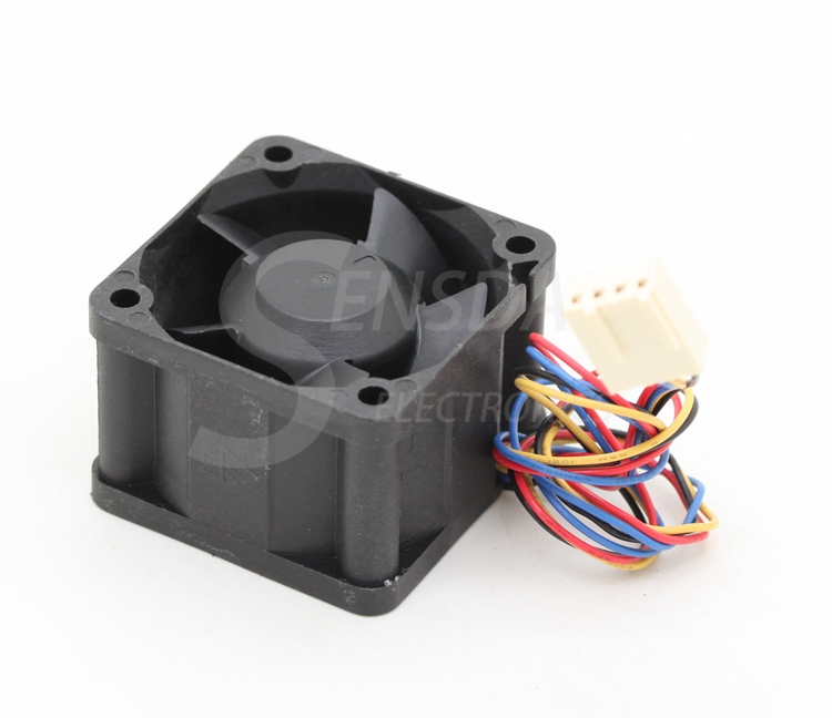 Купить с кэшбэком for delta FFB0412SHN 12V 0.60A 40mm 4cm DC PWM server inverter case axial cooling fans
