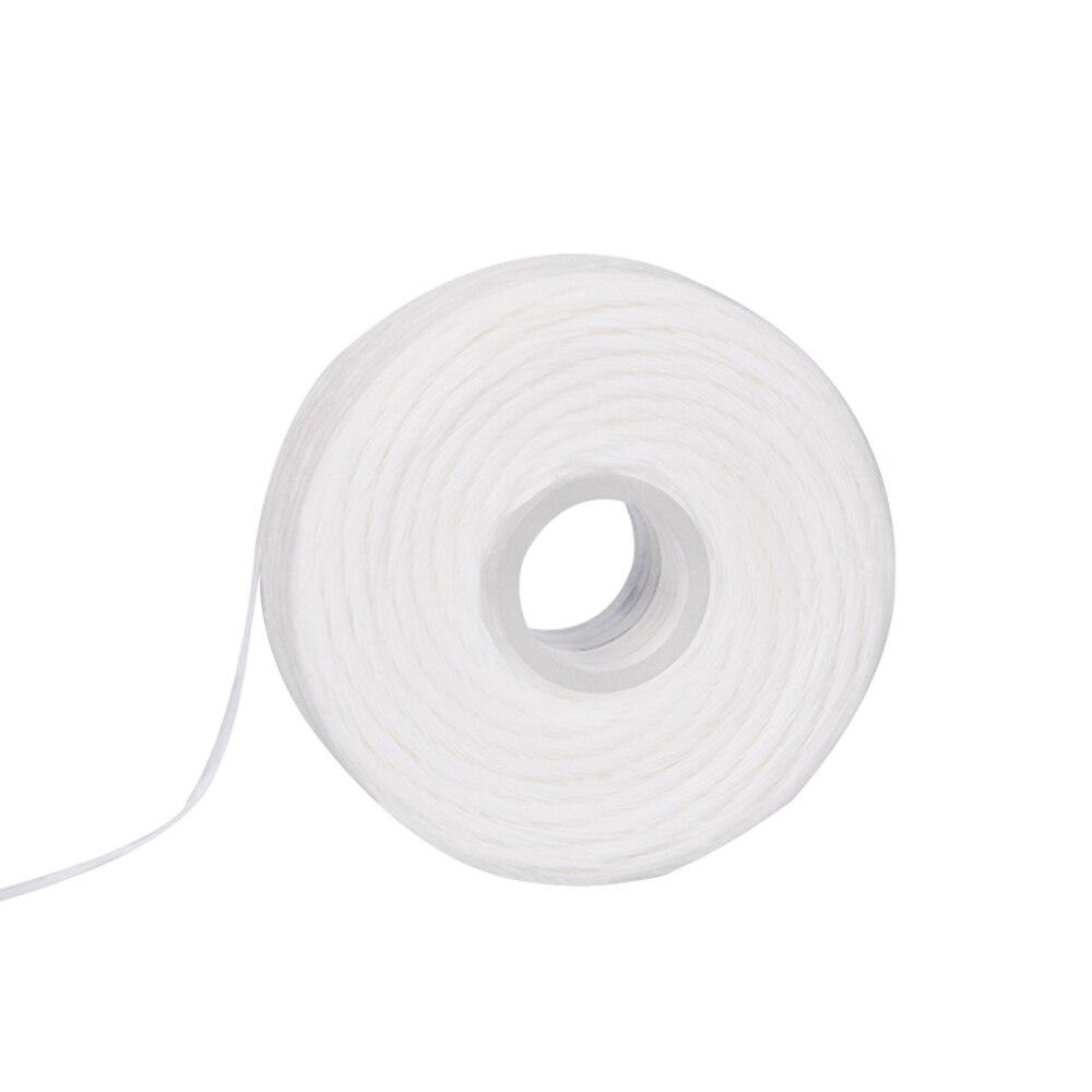 5 рулонов 50 м зубная нить гигиена полости рта чистка зубов Зубная нить катушка воск мята зубочистка и зубная нить чистка зубов