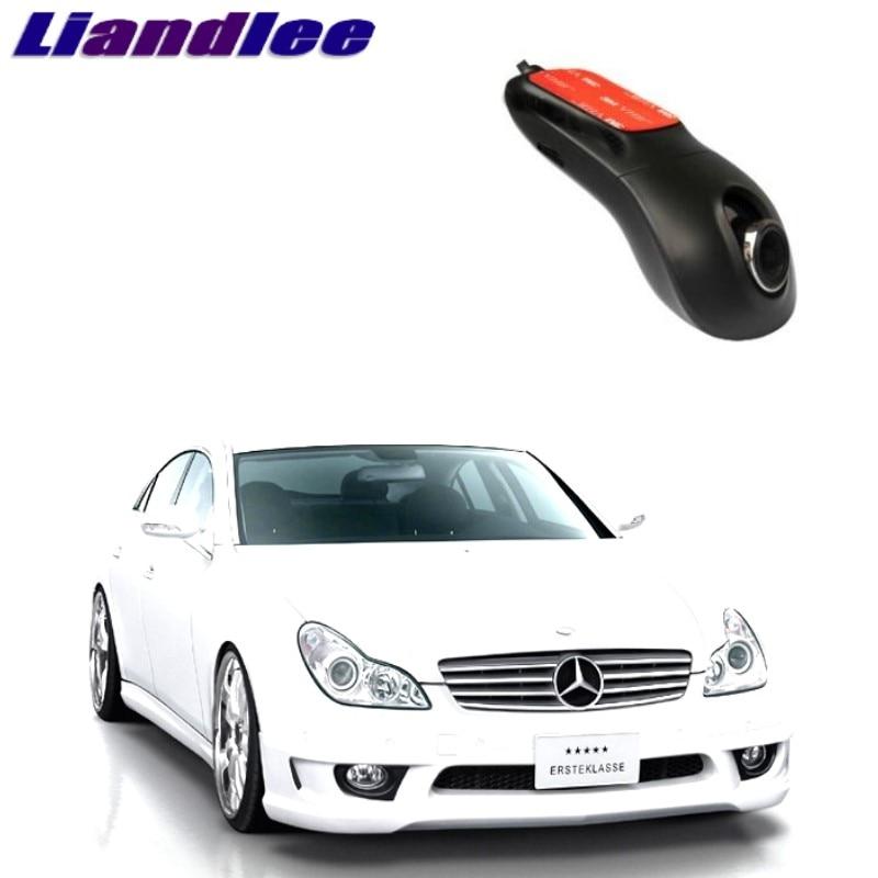 Liandlee For Mercedes Benz CLS MB W218 2011~2018 Car Black Box WiFi DVR Dash Camera Driving Video Recorder
