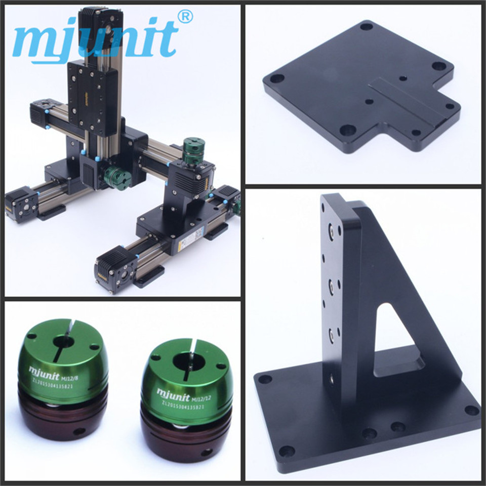 где купить mjunit 45mm belt drive linear guide,3D printer linear rail slide table дешево
