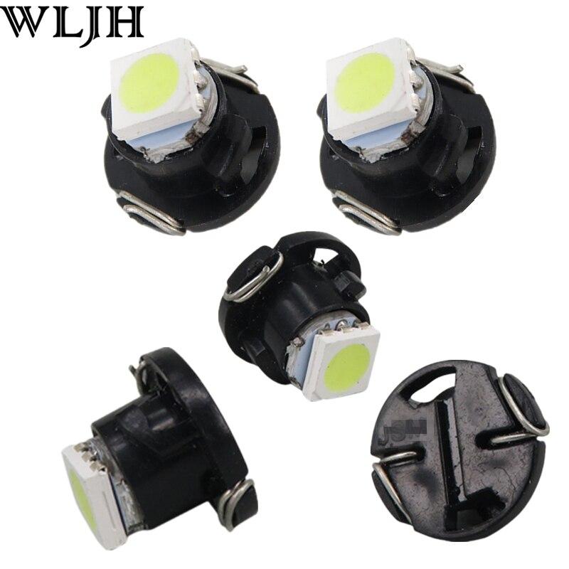20x Warm White T4//T4.2 Neo Wedge 10mm Car Dash HVAC Climate Control Light Bulbs