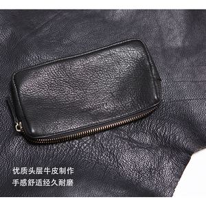 Image 3 - LANSPACE mens leather wallet fashion coin purses holders famous brand purse