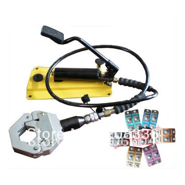 Separable Hydraulic Hose Crimping Tool Foot Operated