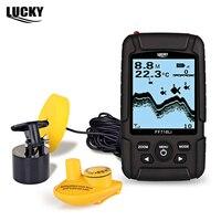 LUCKY FF718Li 200 кГц проводной 125 кГц Беспроводной Sonar Рыболокаторы ABS Подводный Видео Камера Fishfinder Портативный эхолот сигнализации