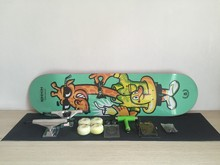 2016 Complete skateboard with Brand UNION deck 8″ with skateboard parts combination in best price for element bearing and wheels