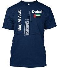 4548a579f5a3 Burj Al Arab Dubai Souvenir T-Shirt menMen 2018 Funny Cotton Top Tees Short  Sleeve