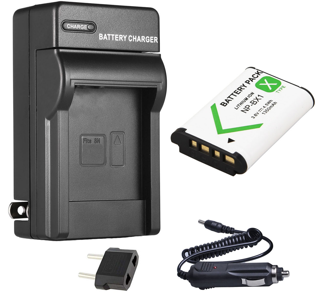 MICRO USB CHARGER for Sony Cybershot DSC-HX60V DSC-RX1R