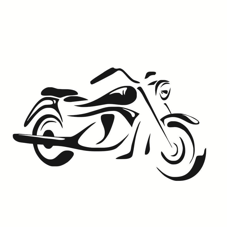 Toko Online Gratis Pengiriman Motor Tua Dinding Stiker Keren