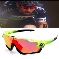 2017 New Brand TR90 Sport Goggle Sunglasses Men HD Polarized 4 Lens Fashion Glasses For Women