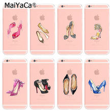 MaiYaCa Colorful Phone Accessories Gorgeous High Heel Shoes For iPhone 6 6s Case