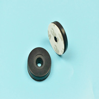 500pcs Heat Resistant UHF RFID PPS Washable Button Laundry Tag Alien H3 Chip with 3M Adhesive Used for Laundry Management