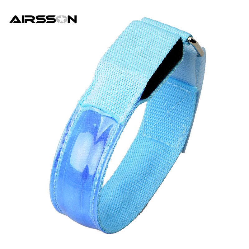 HTB1oHd.NVXXXXa.XXXXq6xXFXXXJ Outdoor Sports Night Running Armband Led Light Safety Belt Arm Leg Warning Wristband Cycling Bike Bicycle Party luces bicicleta