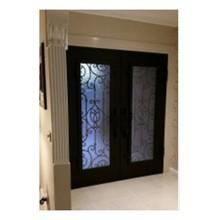 Наружные двери двойные боковые двери Двойные железные двери