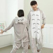 Autumn And Winter Cartoon Animal Pyjama Adult Unicorn Pajamas Dinosaur Totoro Cosplay Pijama Unicornio Christmas Pajamas