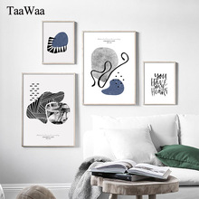 Modern Painting Stone Abstact Canvas Nordic Style Posters and Prints Wall Art Decorative Picture for Living Room Home Decoration