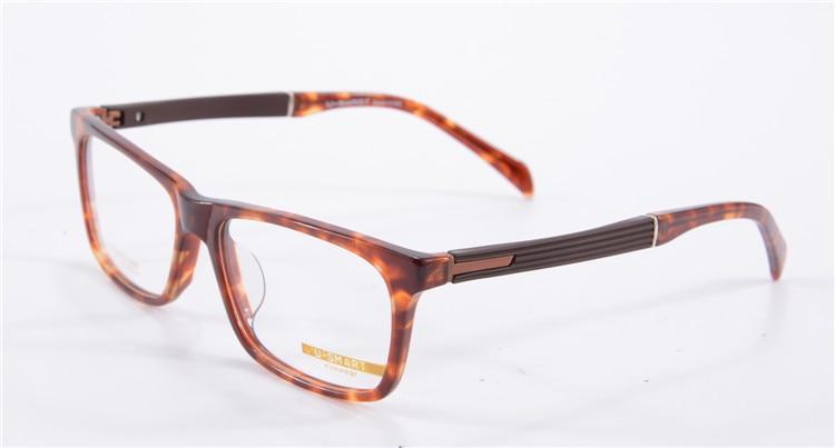 Стиль бренда Для мужчин очки для близоруких каркасные компьютера оригинальная и имитационными линзами, очки для чтения очки с оправой Eyeglasses1358 - Цвет оправы: c2