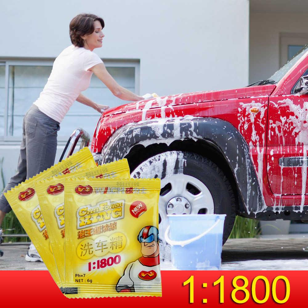 1: 1800 Auto Geconcentreerd Waspoeder Auto Automobiles Cleaning Tools Venster Wildshield Wassen Schoonmaken Auto Accessries TSLM1