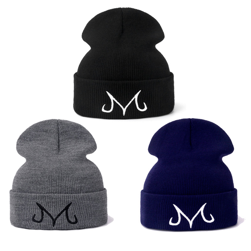 Majin Buu   Beanie   Cap Casual Knitted Hat for Women Men Hip-Hop   Skullies   Majin Boo Gorro