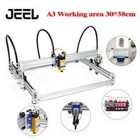 0.5W/2.5W/3.5W/5.5W Laser Engraver 30X38CM Working Area A3 Mini Laser Engraving Machine Wood Router Marking Machine Advanced Toy
