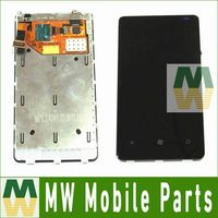 1PC Lot For Nokia Lumia 800 N800 LCD Display Touch Screen With Frame Full Assembly Digitizer