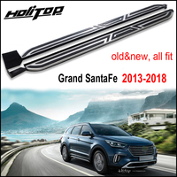 new arrival for Hyundai Grand Santa Fe 2013 2018 side step side bar running board,from ISO9001 factory,dare to guarantee quality