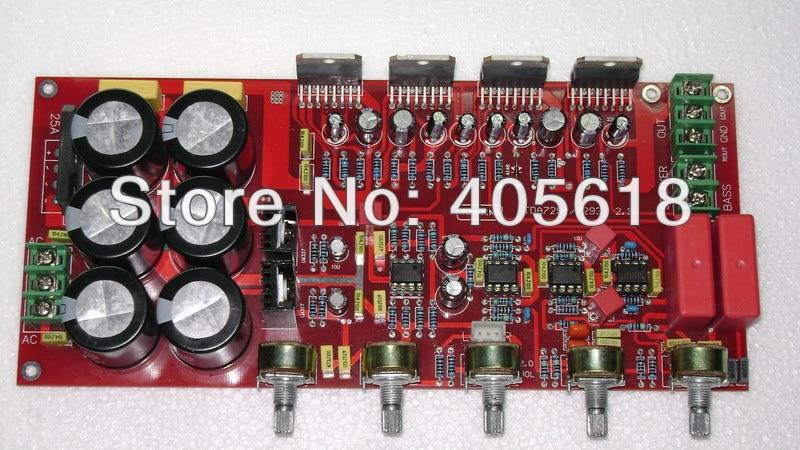 TDA7294 2.1 Power amplifier board 80W*2+160W Subwoofer assembled цена