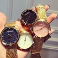 Fashion Casual Clock Gold Bracelet Ladies Quartz Watch Women Rhinestone Watches Women's Elegance Wristwatch Relojes Mujer OP001
