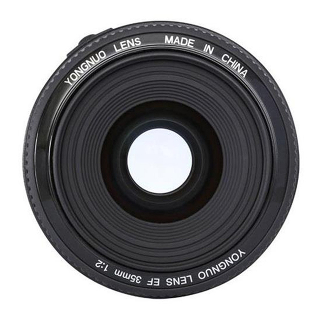 YONGNUO YN35mm YN35 F2 Объектив 1:2 AF/MF Широкоугольный Фиксированный/Премьер-Автофокус Объектив Для Canon EF маунт EOS Камеры