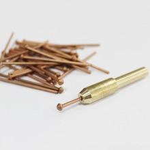 stud welder draw pins 2.0mm stud welding panel pins removing dents car body sheet metal spot welding studs electrodes chuck kit цена