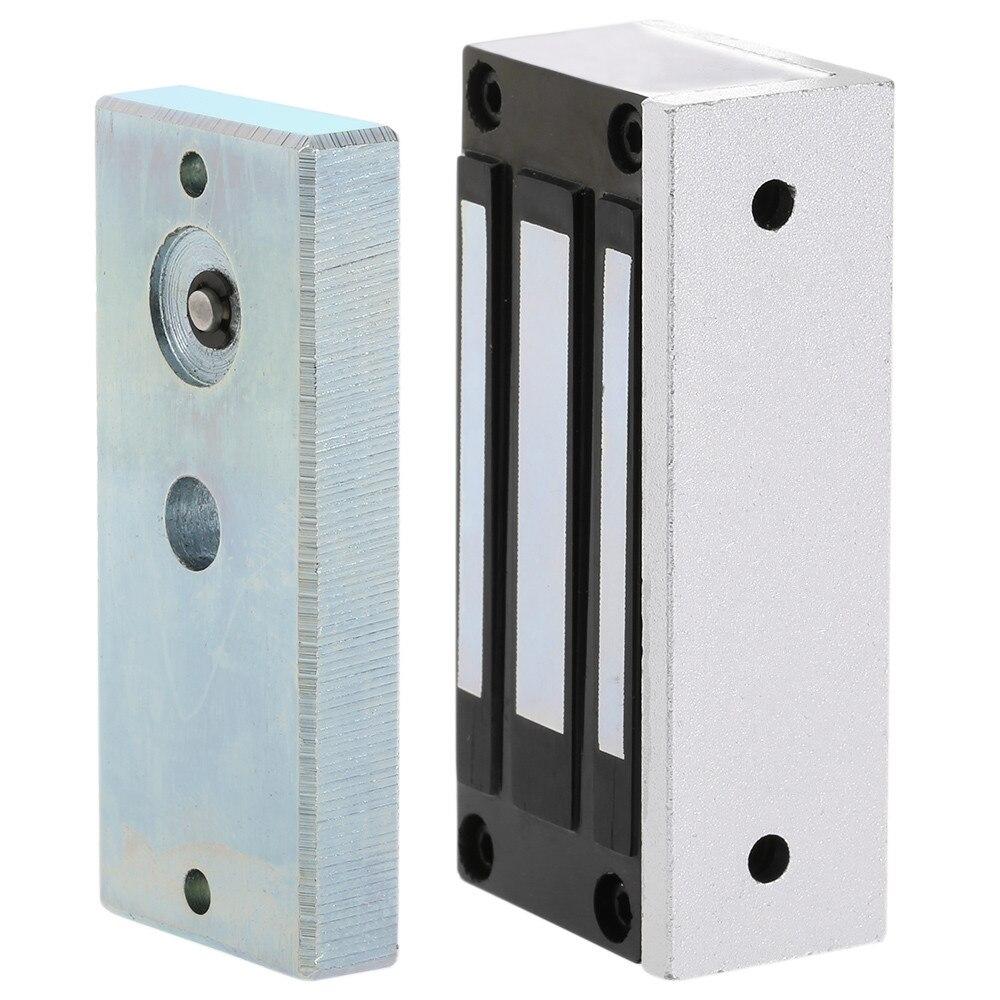 DC12V 60kg Single Glass Door Gate EM Lock/electric Magnetic Solenoid Cabinet Case Locks For Office Door Access Control System