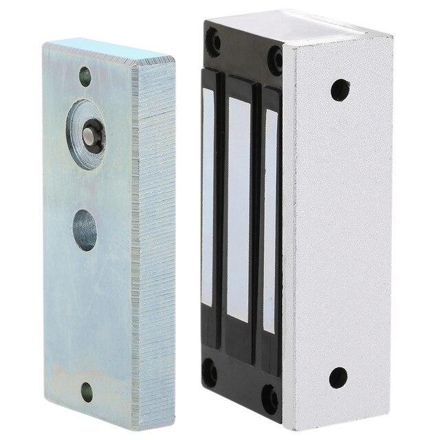 DC12V 60kg Single Glass Door Gate EM Lock/electric Magnetic Solenoid  Cabinet Case Locks For