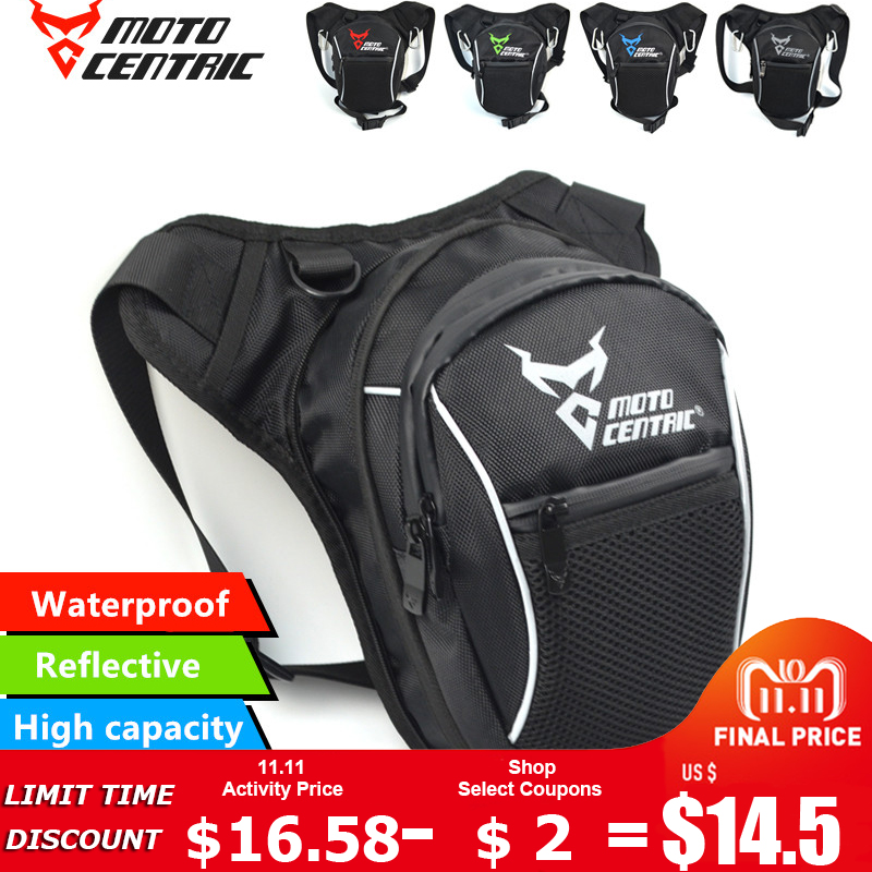 Motorcycle Leg Bags Waterproof Drop Leg Cycling Fanny Pack Waist Shoulder Moto Bag for Outdoor Camping Fishing Climbing Travel цена