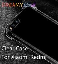 Clear Case For Xiaomi Mi6 5S Plus Mi 5X 5C Note 3 2 Front Transparent Cover For Redmi 5A 3 3S 4A 4X Pro Prime Note 3 4 4X 64GB