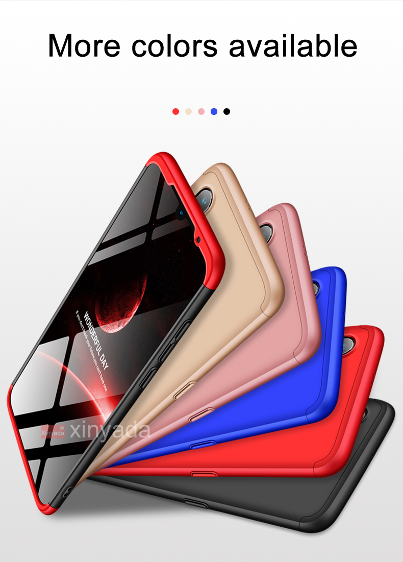 360 Case Cover For Xiaomi Mi 9 Mi9 SE 9SE Case luxury armor hard Bumper coque protector shell funda in Fitted Cases from Cellphones Telecommunications