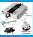 13db yagi + display LCD! mini telefone móvel GSM 900 mhz repetidor de sinal/repetidor, amplificador booster de sinal de telefone celular GSM