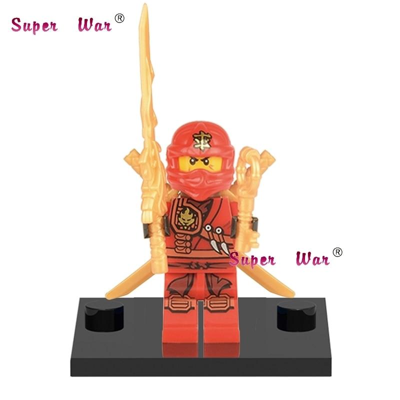 Hot Sale Single Sale Star Wars Superhero Marvel Avengers Ninja Movie Kai Building Blocks Action Model Bricks Toys For Children Blocks