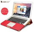 Jisoncase originais bolsa para laptop de negócios brirfcase para macbook air 11 polegadas luxo projeto estande notebook laptop bag para macbook air