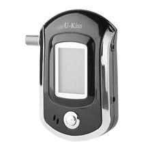 U-Kiss портативный тестер для алкоголя с ЖК-дисплеем Цифровой алкотестер алкогольный Алкотестер анализатор автомобильный привод безопасности
