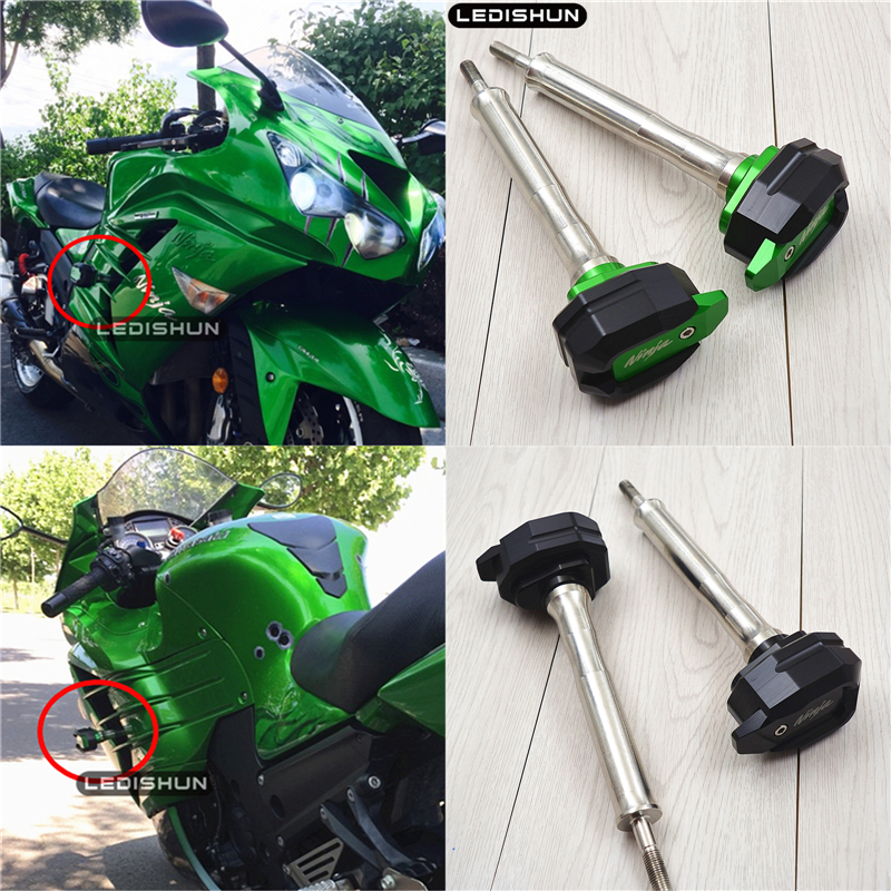 For Kawasaki GTR 1400 ZX14R NINJA1400 ZZR1400 motorcycle slider frame sliders Engine Protective Guard cover Falling