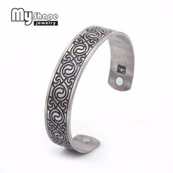 Mi forma ocho diagramas hombres salud pulsera magnética joyería de la aptitud mujeres joyería brazaletes venta al por mayor directa de fábrica