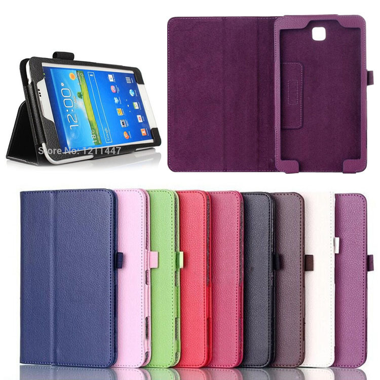 Folio PU Leather Case Cover Stand For Samsung Galaxy Tab 3 7 Tablet t211 T210 P3200 Phone cases аксессуар чехол samsung galaxy tab 3 7 0 logitech folio fantasy pink 939 000758