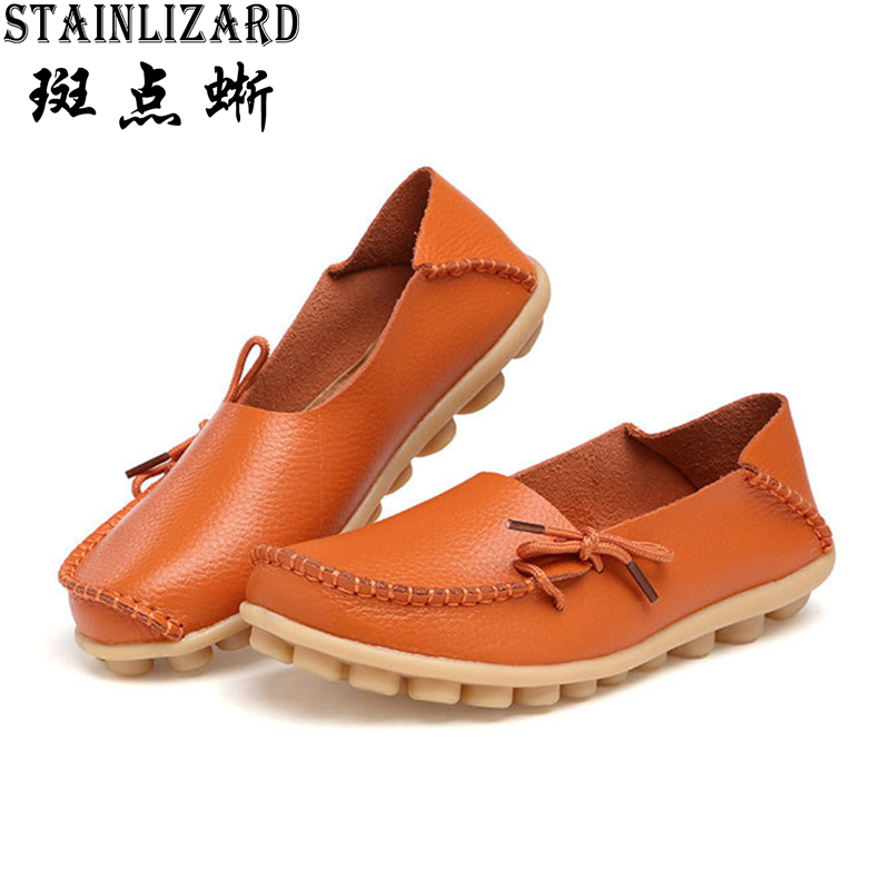 2016 New Solid Women Flats Comfortable Round Toe Moccasins Loafers Bowtie Fashion Woman Casual Shoes Wild Mother's Shoes SDT179 spring new slip on flats woman shoes summer autumn fashion casual women shoes comfortable round toe loafers shoes 7d46