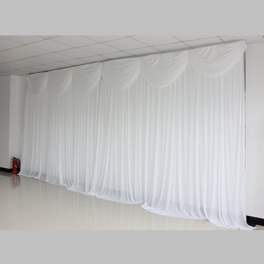 New fashion White Popular Ready Made Wedding Backdrops Event Wedding Party Decoration Backdrop