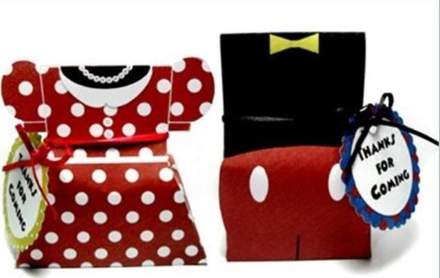 Mickey Minnie Mouse Favor Treat Bo Bags Wedding Party Birthday Candy Gables 4